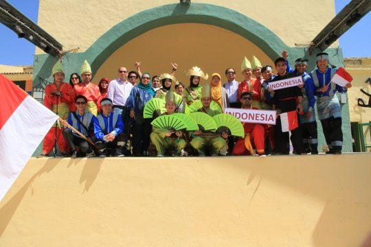 Kebudayaan Indonesia Ramaikan Karnaval di Tunisia