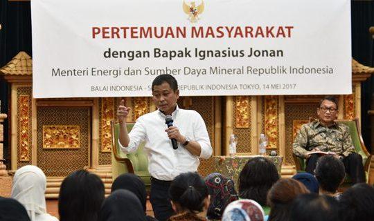 Pemerintah Optimis Selesaikan Persoalan Energi dan Sumberdaya Mineral