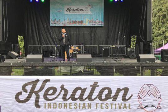 Keraton 2017, Ajang Pagelaran Seni Kebudayaan Indonesia di Amerika