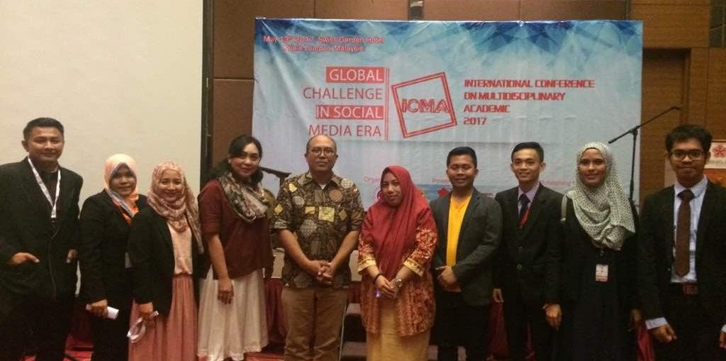 Puluhan Akademisi Indonesia Ikuti Conference di Malaysia